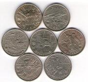 Продам Тольятти Набор 2-х рублевых монет