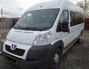 Пассажирские перевозки Peugeot,  18 мест