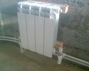 Разработка,  поставка,  монтаж систем отопления,  водоснабжения.
