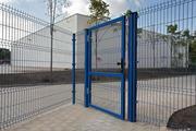 Металлический забор панельного типа