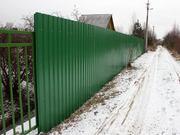 Забор из профнастила в Тольятти