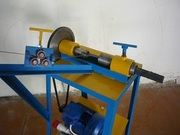 Станок для плетения рабица с блоком управления,  регулировкой скорости