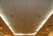 Подвесной потолок в комплекте.