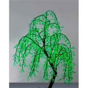 светодиодный занавес, деревья, электрофеерверки
